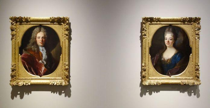 Jean Ranc - Portraits de Pierre Gaudron et de Jeanne Catillon, 1706