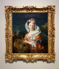 Jean Ranc - Une vendangeuse, portrait présumé de Marguerite Élisabeth Ranc, Vers 1715