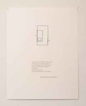 Mais il y a ce lieu, qui nous maintient – Mécènes du sud Montpellier-Sète - Vue de l'exposition - Armelle Caron, Chambres, 2019