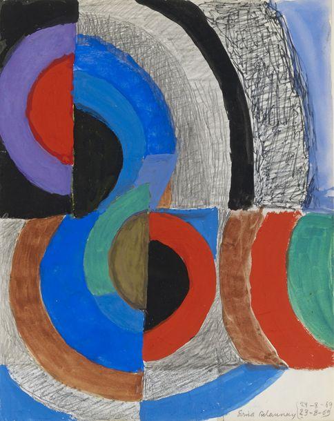 Sonia Delaunay, Rythme Couleur, 1969 - Exposition Patterns 7 Clous à Marseille