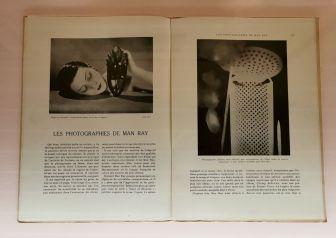 Art et Décoration, 5 novembre 1928 - Man Ray, photographe de mode - Musée Cantini - Noire et blanche