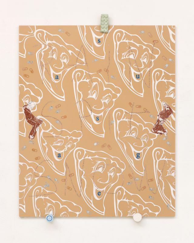 Ceel Mogami de Haas, Rain, spit, snow, 2018, 73,1 x 97,2 cm