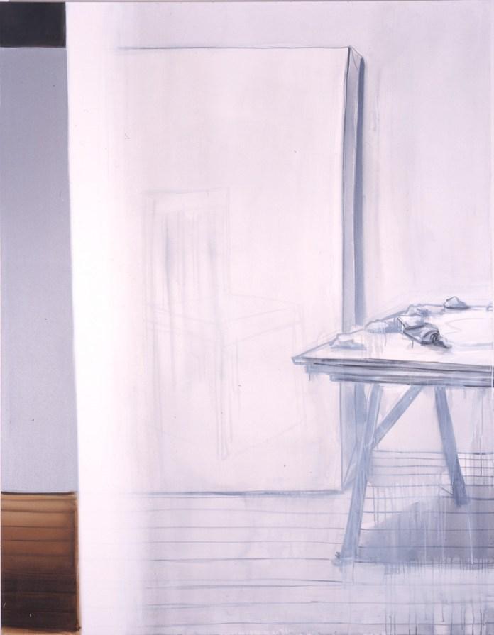 Lisa Milroy - Black and White, 2005 - Panneau 09