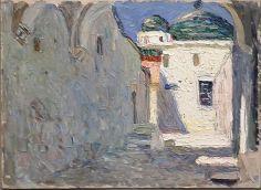 Vassily Kandinsky - Tunis, Strasse [Tunis, rue], 1905 - Voyage Voyages au Mucem
