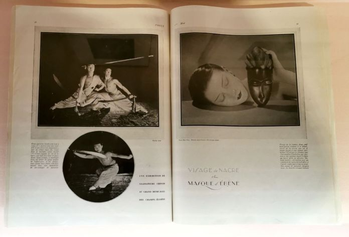 Vogue France, 1er mai 1926 - Man Ray, photographe de mode - Musée Cantini - Noire et blanche