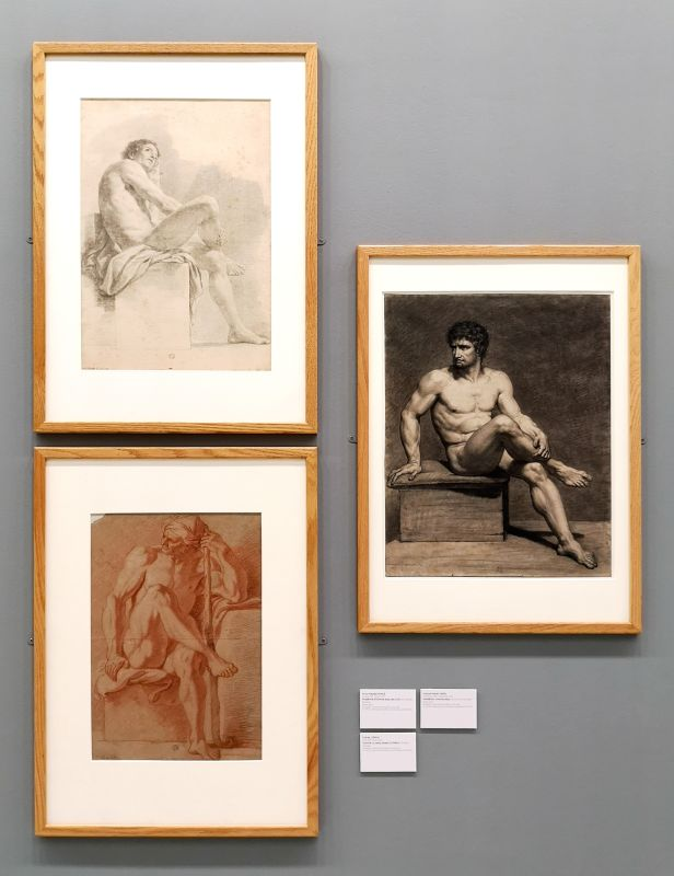 Anton Rapael Mengs, Charles Lebrun et François-Xavier Fabre - Art & Anatomie - Musée Fabre