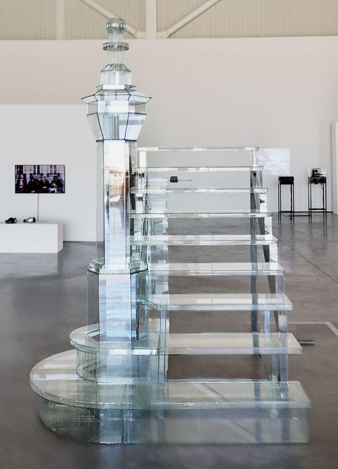 Benoît Jacquemin - Psycho's Stairs, 2020 - Signal Espace(s) réciproque(s) à la Friche de La Belle de Mai