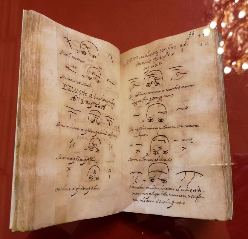 Jérôme Cardan - Metoposcopia Manuscrit sur papier, 17 siècle - Art & Anatomie - Musée Atger