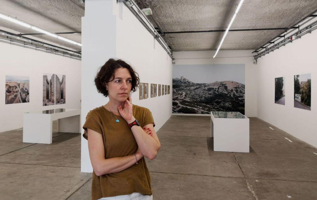 Margret Hoppe - Südwall (Le mur de la Méditerranée) - Salle des Machines, Friche la Belle de Mai, Marseille
