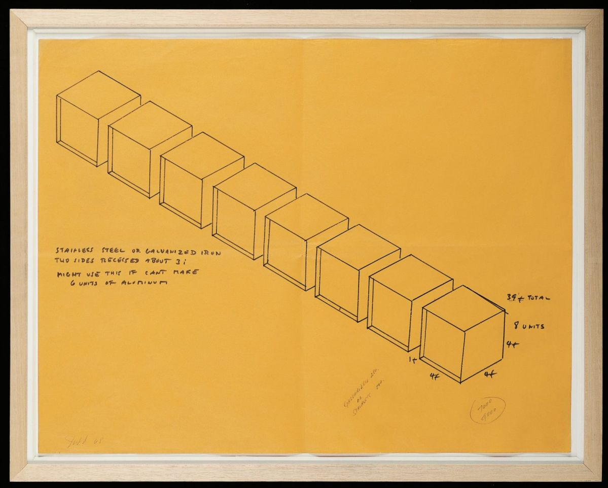 Donald Judd, Untitled, 1968
