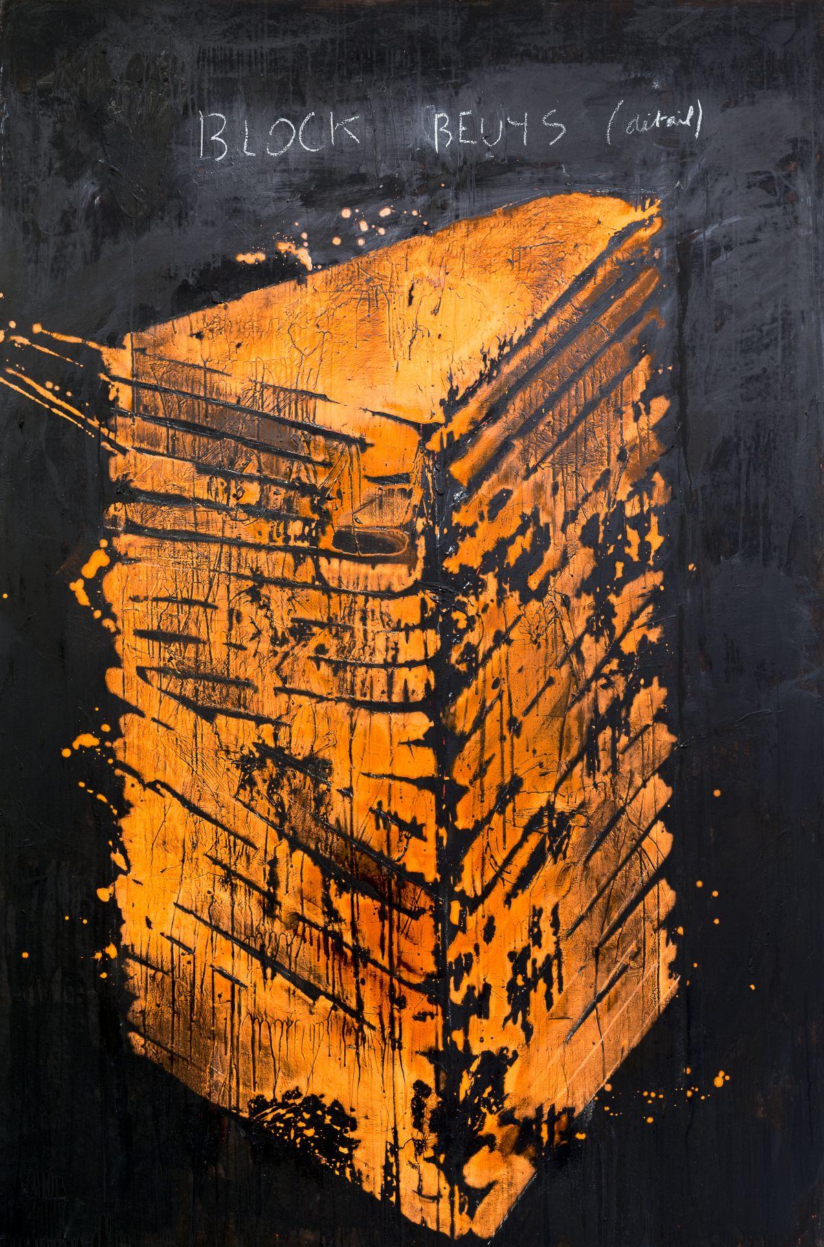 Georges Autard - D'après Beuys, 2019 - La forme informe- Galerie ALMA- Vue de l'exposition Photo © David Huguenin