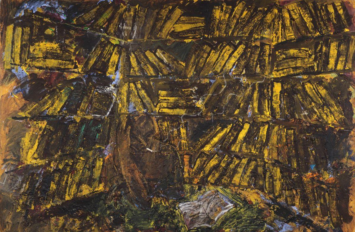 Miquel Barcelo, Biblioteca, 1984