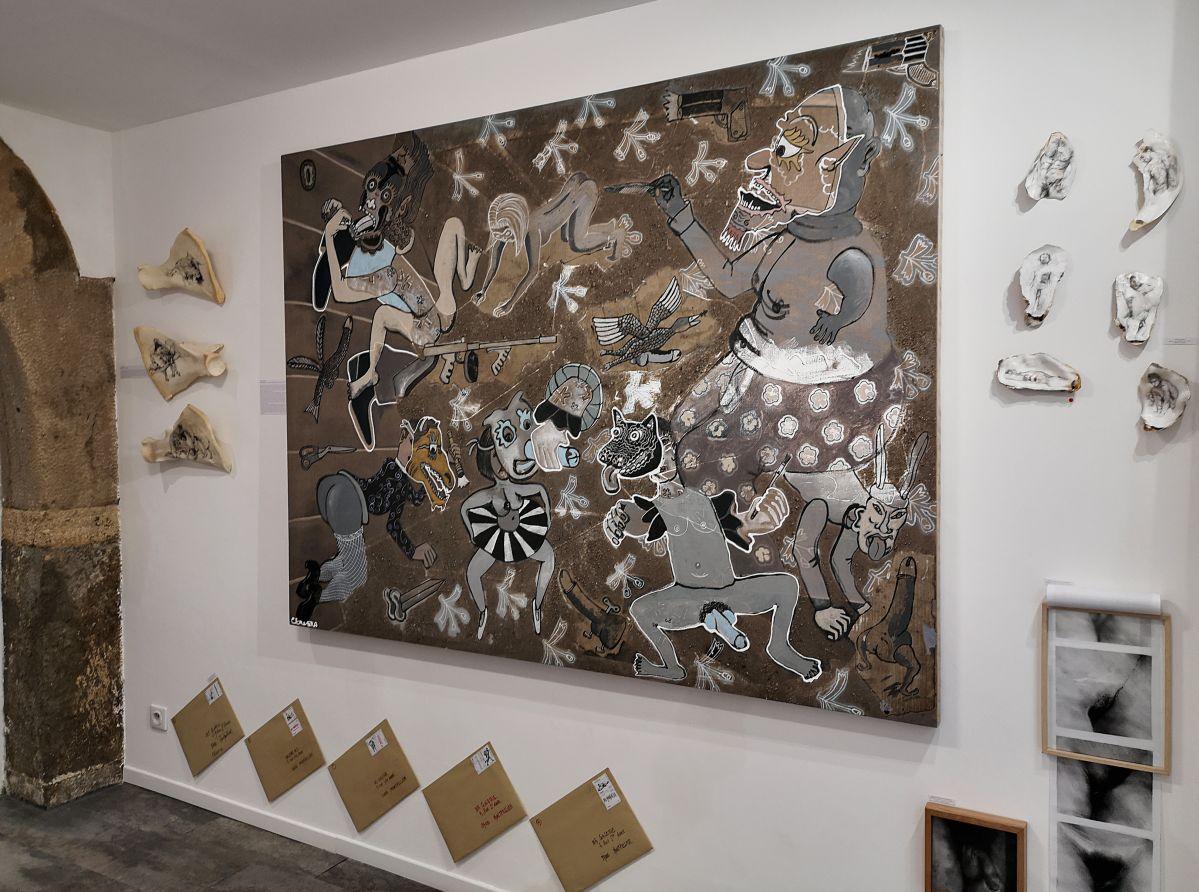 NO PROHIBIDA à la N5 galerie - Vue de l'exposition - Photo En revenant de l'expo !
