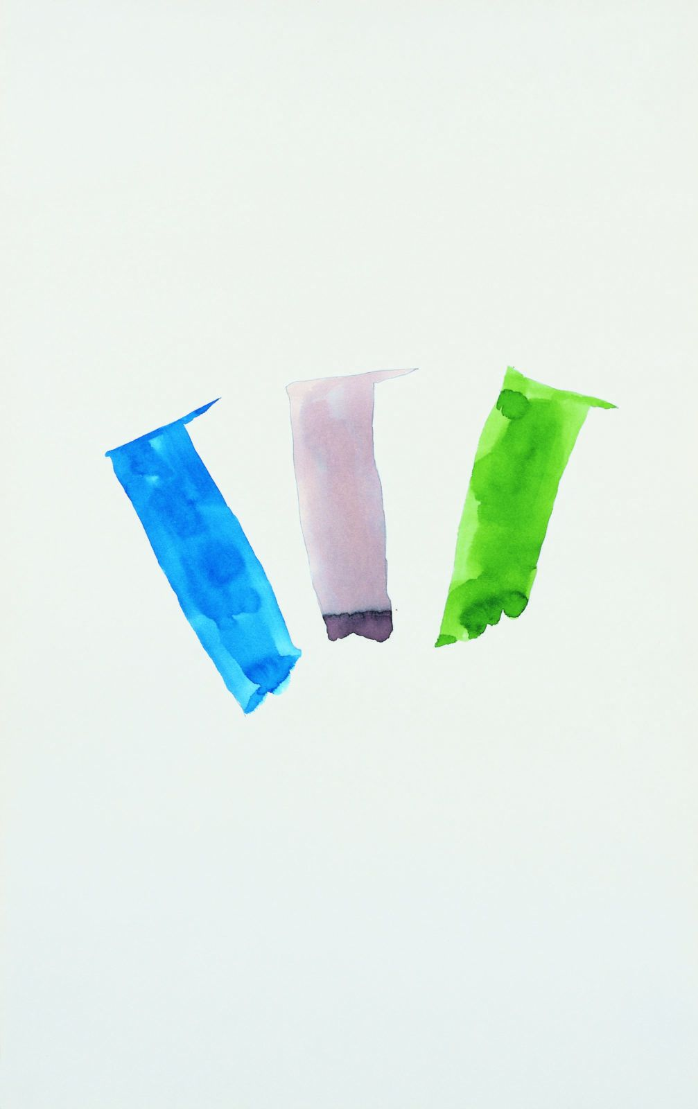 Richard Tuttle, Any Three Colors on My Mind, 1973