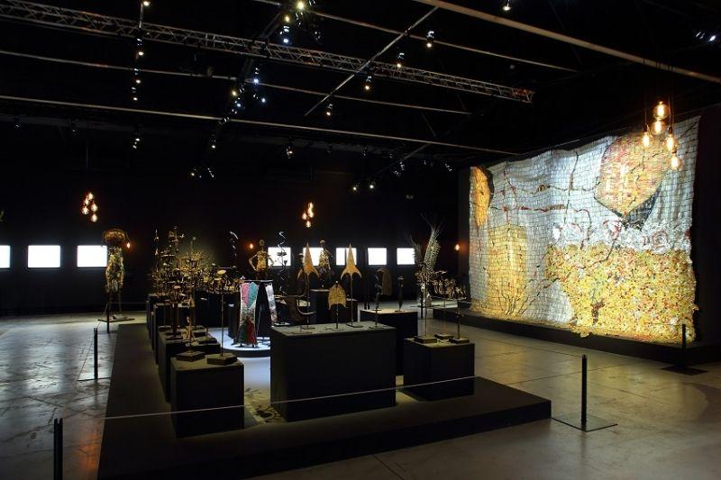 Trans Fer - Vue de l'exposition à la Fondation Blachère à Apt - Photo ©Jérémie Pitot