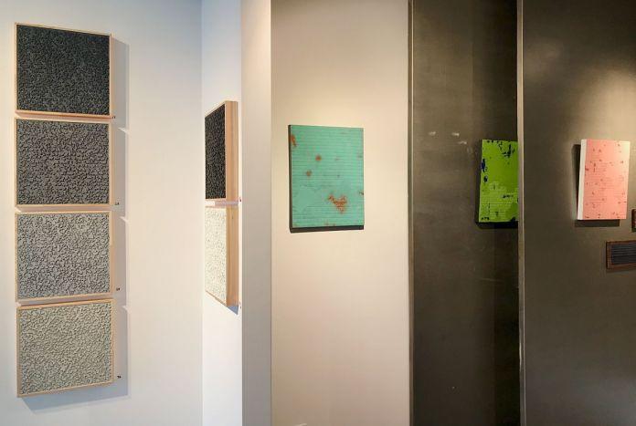 Pascale Hugonet – vue de l'exposition «Épigraphies» à la Galerie Bartoli – Marseille - Photo (c)Pascale Hugonet