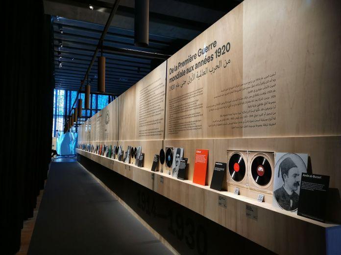 L'Orient sonore au Mucem - Vue de l'exposition - Photo En revenant de l'expo !