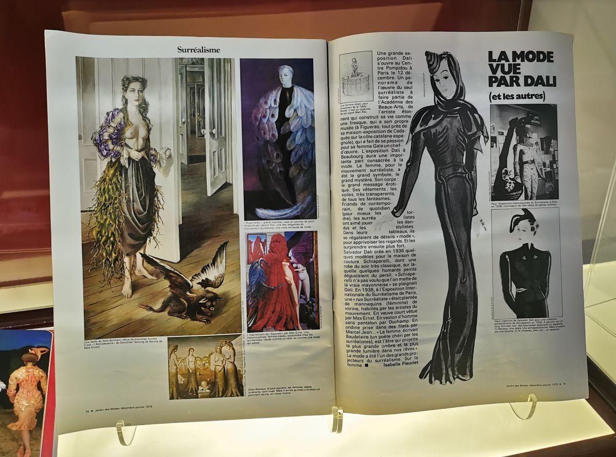 L'héritage surréaliste dans la mode au Château Borély - Chambre dite de Monsieur - Trompe-l'œil et Bijoux