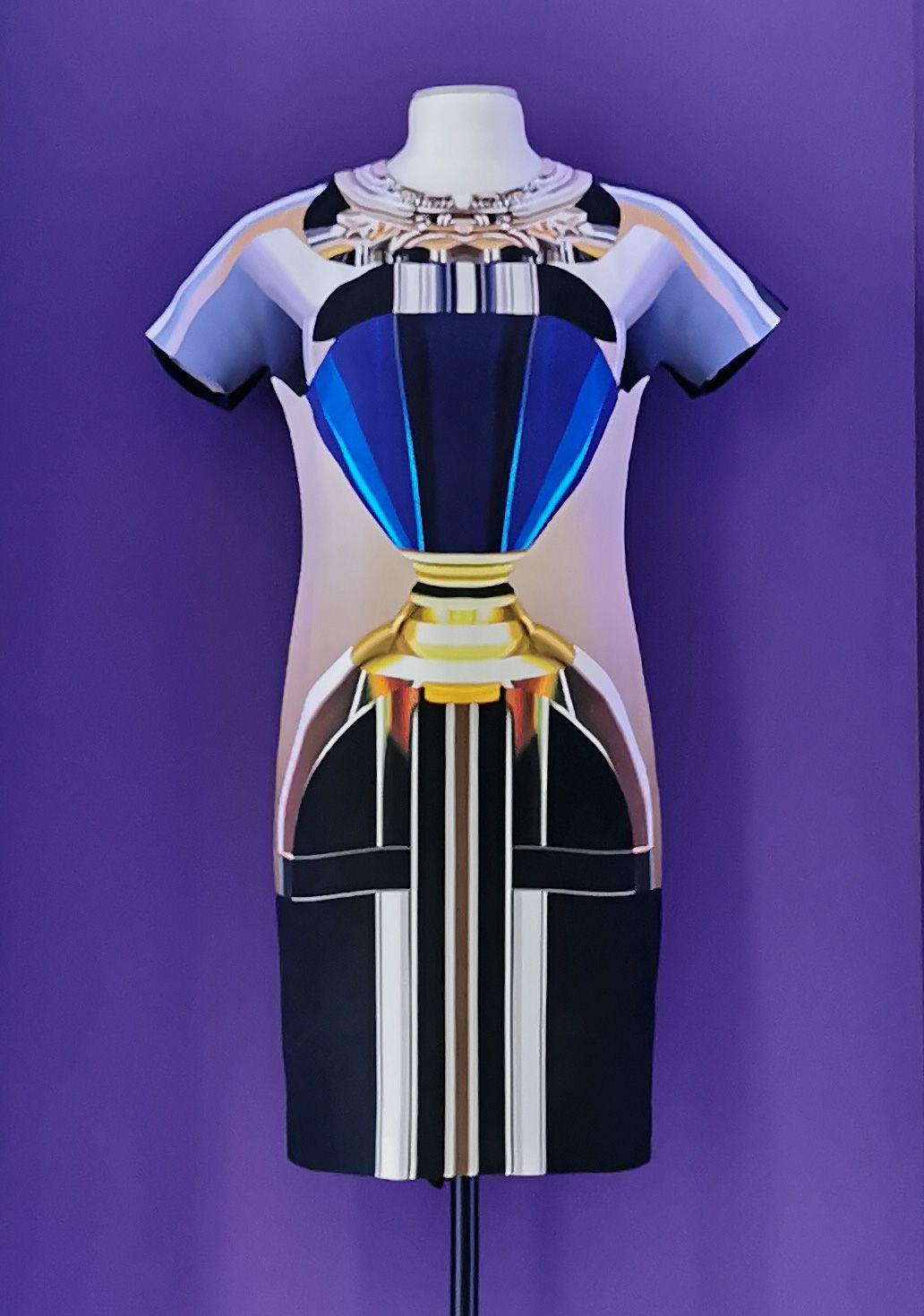Mary Katrantzou - « Woman in a Bottle », 2009 - L'héritage surréaliste dans la mode au Château Borély - Chambre dite de Monsieur