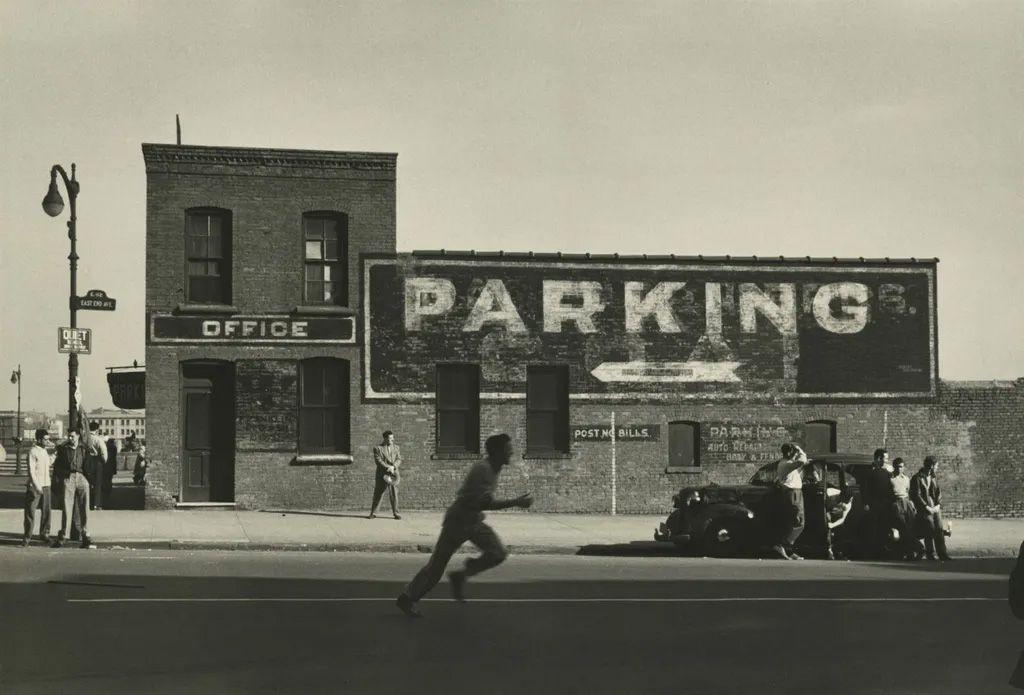 Dan Weiner - East End avenue NY 1950
