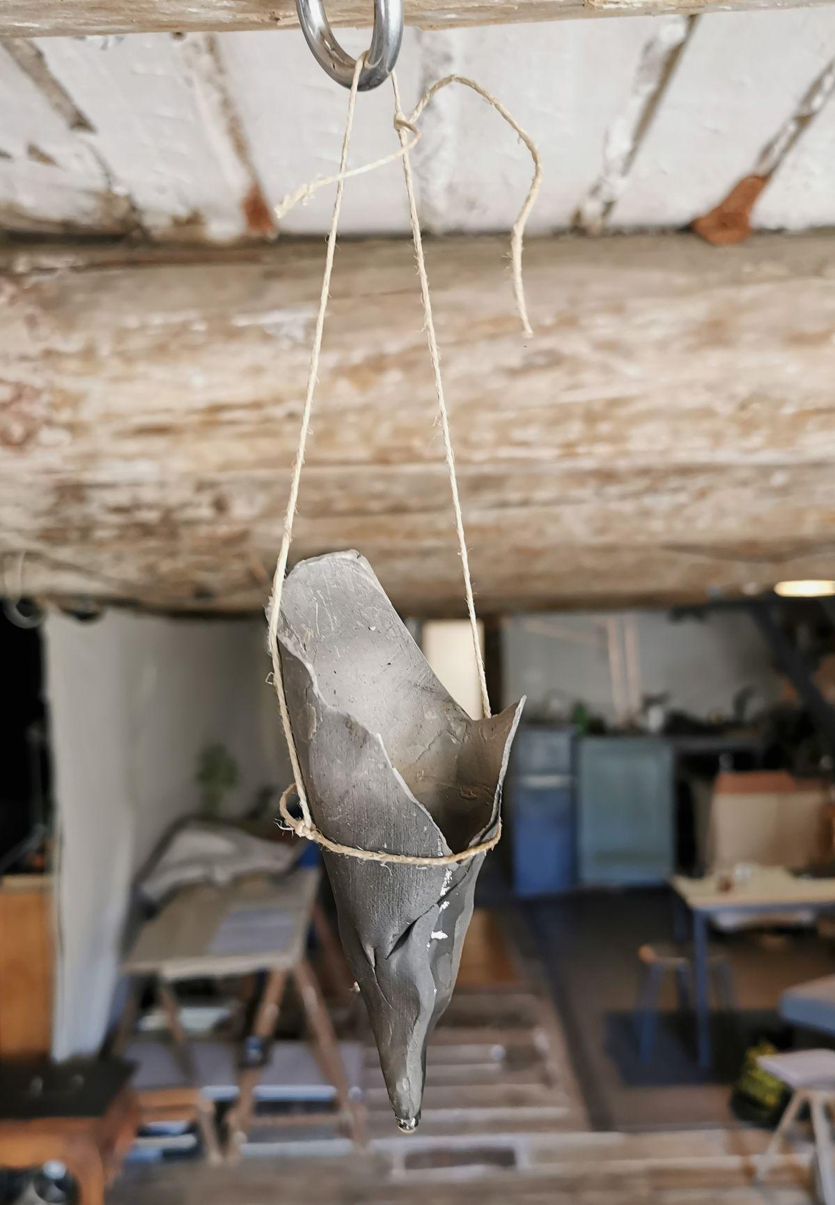 Delphine Wibaux - dans son atelier - OAA - PAC 2020 - Marseille