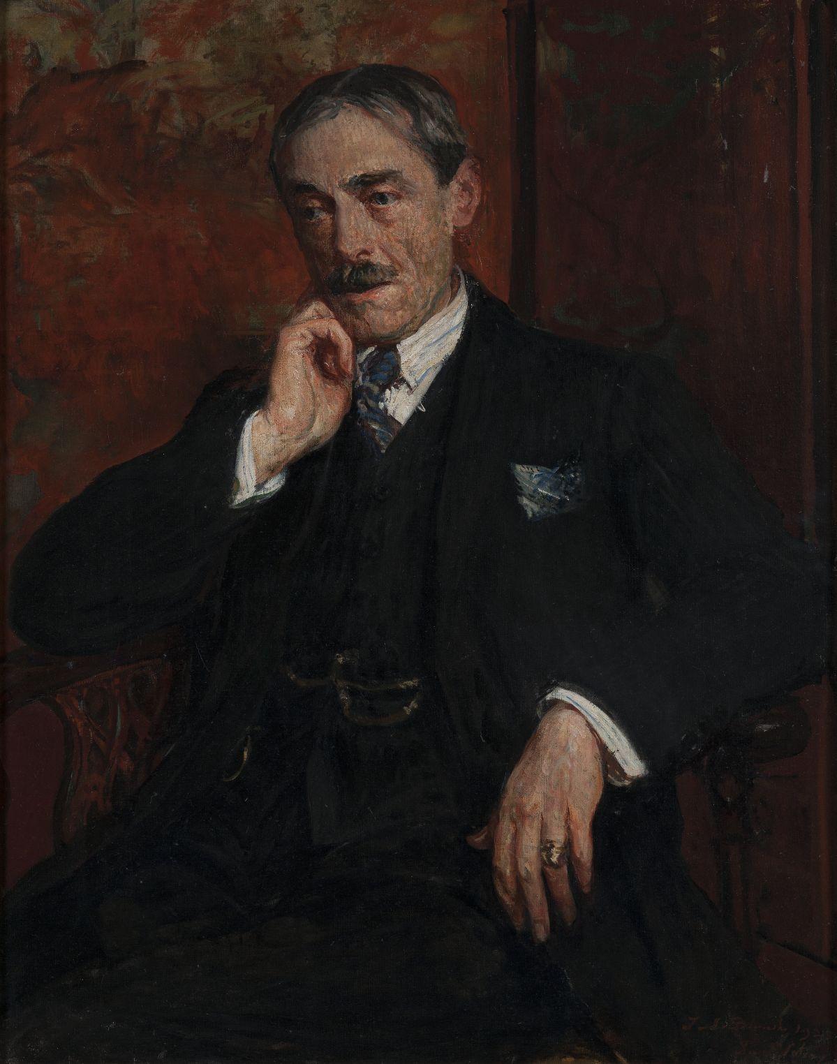 Jacques-Émile Blanche - Portrait de Paul Valéry, 1923