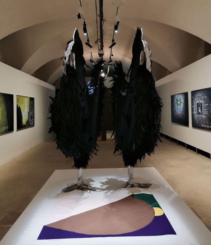 Abraham Poincheval - Oeuf, 2020 - «Ruche - Hive» à la Vieille Charité - Marseille