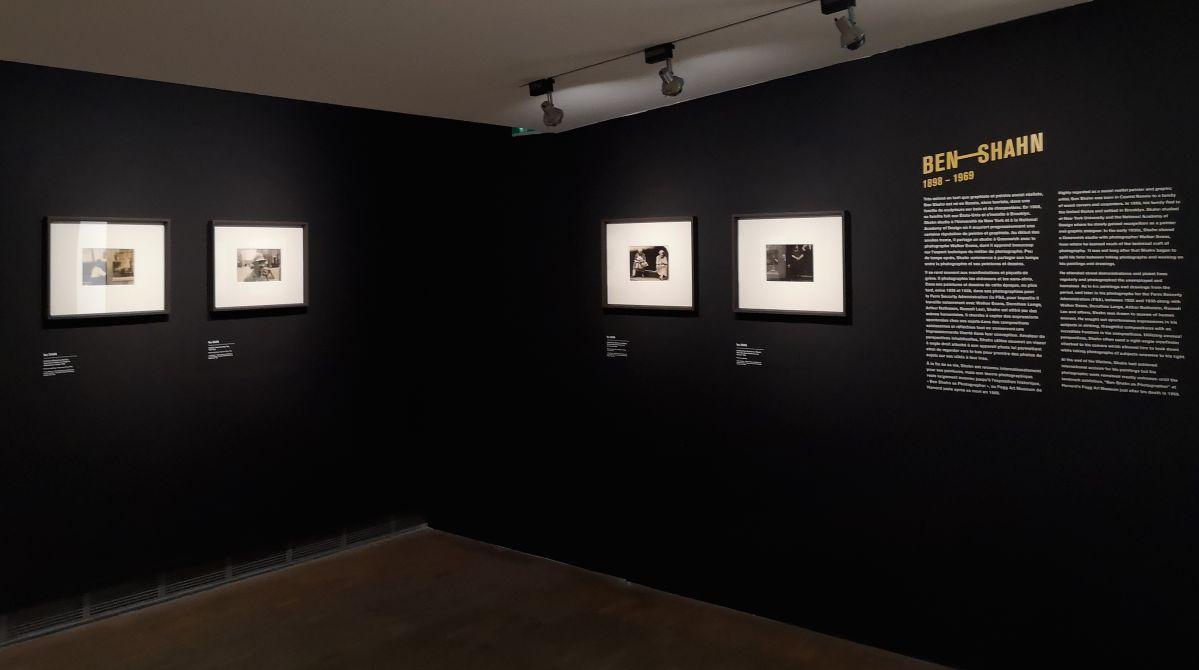 Ben Shahn - The New York School Show au Pavillon opulaire de Montpellier - Introduction