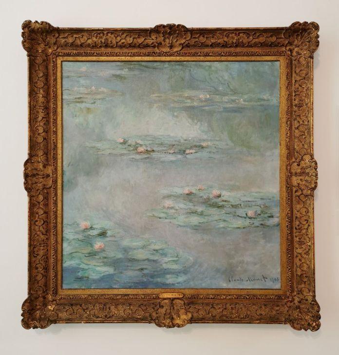 Claude Monet - Nympheas, 1908 - Paul Valéry et les peintres - Le cercle amical proche - Musée Paul Valéry à Sète