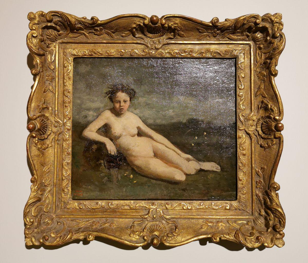 Corot - La source, 1850-1853 - Paul Valéry et les peintres - Autres regards de Valéry sur les peintres depuis sa jeunesse - Musée Paul Valéry à Sète