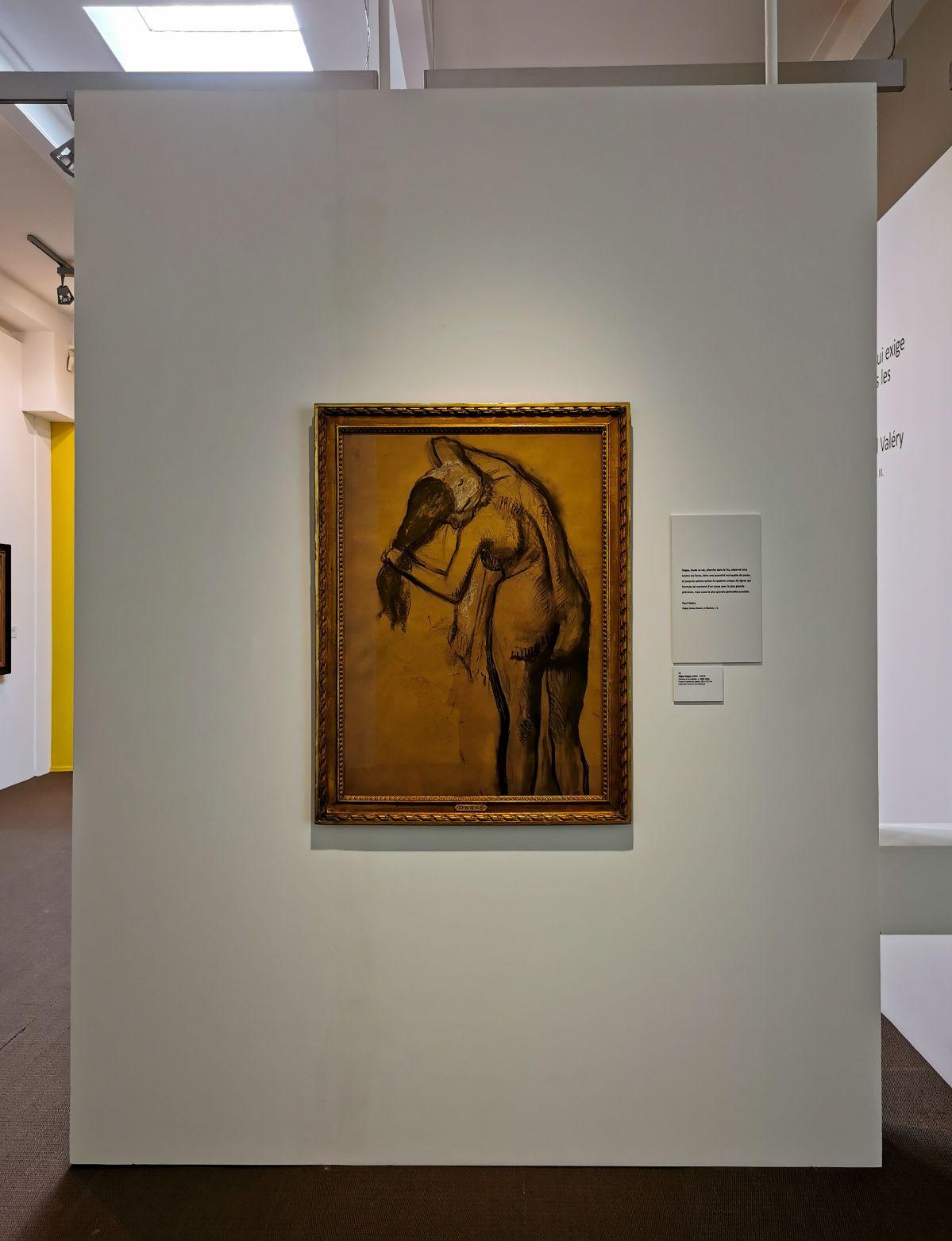 Edgar Degas - Femme à sa toilette, c1895-1903 - Paul Valéry et les peintres - Le cercle amical proche - Musée Paul Valéry à Sète