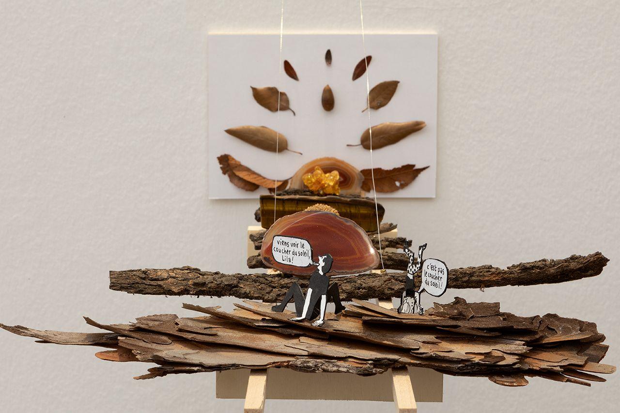 Francois Olislaeger, Studiolila, credit Daniele Molajoli, exposition dans le tourbillon du tout monde, 2020