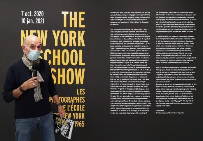 Gilles Mora - The New York School Show au Pavillon Populaire - Montpellier