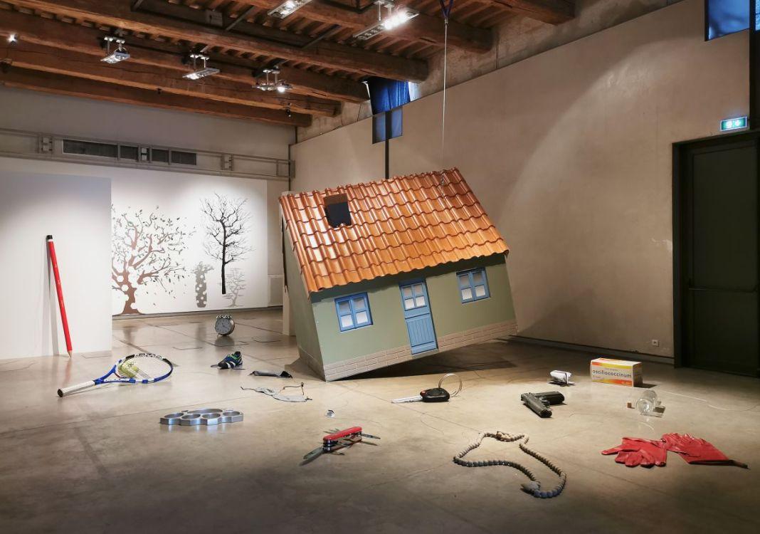 Jeanne Susplugas - Flying House, 2017 - J'ai fait ta maison dans ma boite crânienne à l'Ardenome – Avignon