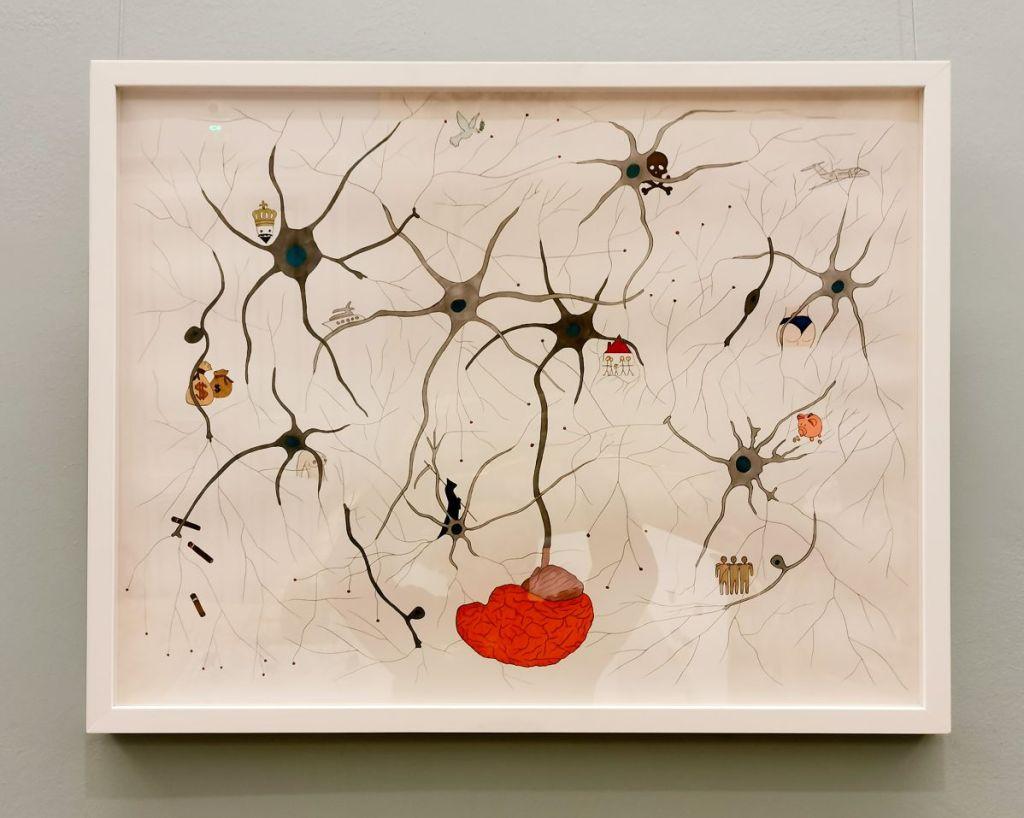 Jeanne Susplugas - In my brain, 2017 - Pharmacopées au Musée Fabre