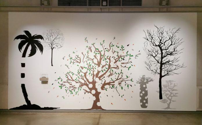 Jeanne Susplugas - Wall Drawing, 2020 - J'ai fait ta maison dans ma boite crânienne à l'Ardenome – Avignon