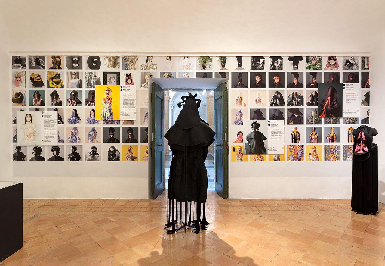 Jeanne Vicerial, quarantaine vestimentaire, centre Jeanne Vicerial et Leslie Moquin Daniele Molajoli, exposition dans le tourbillon du tout monde, 2020