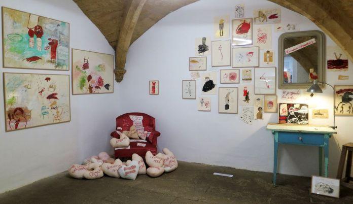 Amélie Joos - «Drawing Draw #4» à la N5 galerie – Montpellier