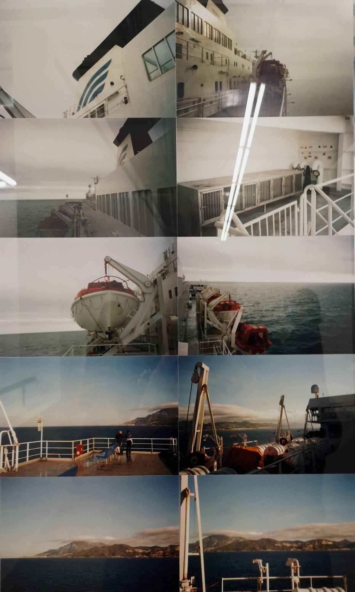 Than Hussein Clark - The Poet James Loop and the Artist Benjamin Edwin Slinger Enact the Mediterranean Crossing Reversal, 2020