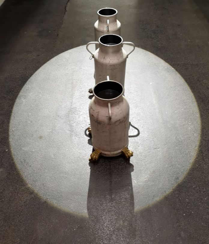 Than Hussein Clark - Untitled or the Pail of Water (Mrabet, 1965, Yacoubi, c 1947 & Boulaich, 1947), 2020