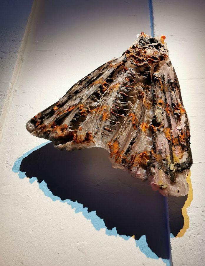 Jean-Marie Appriou - Papillon de nuit 6, 2018 - Possédé·e·s au MO.CO.