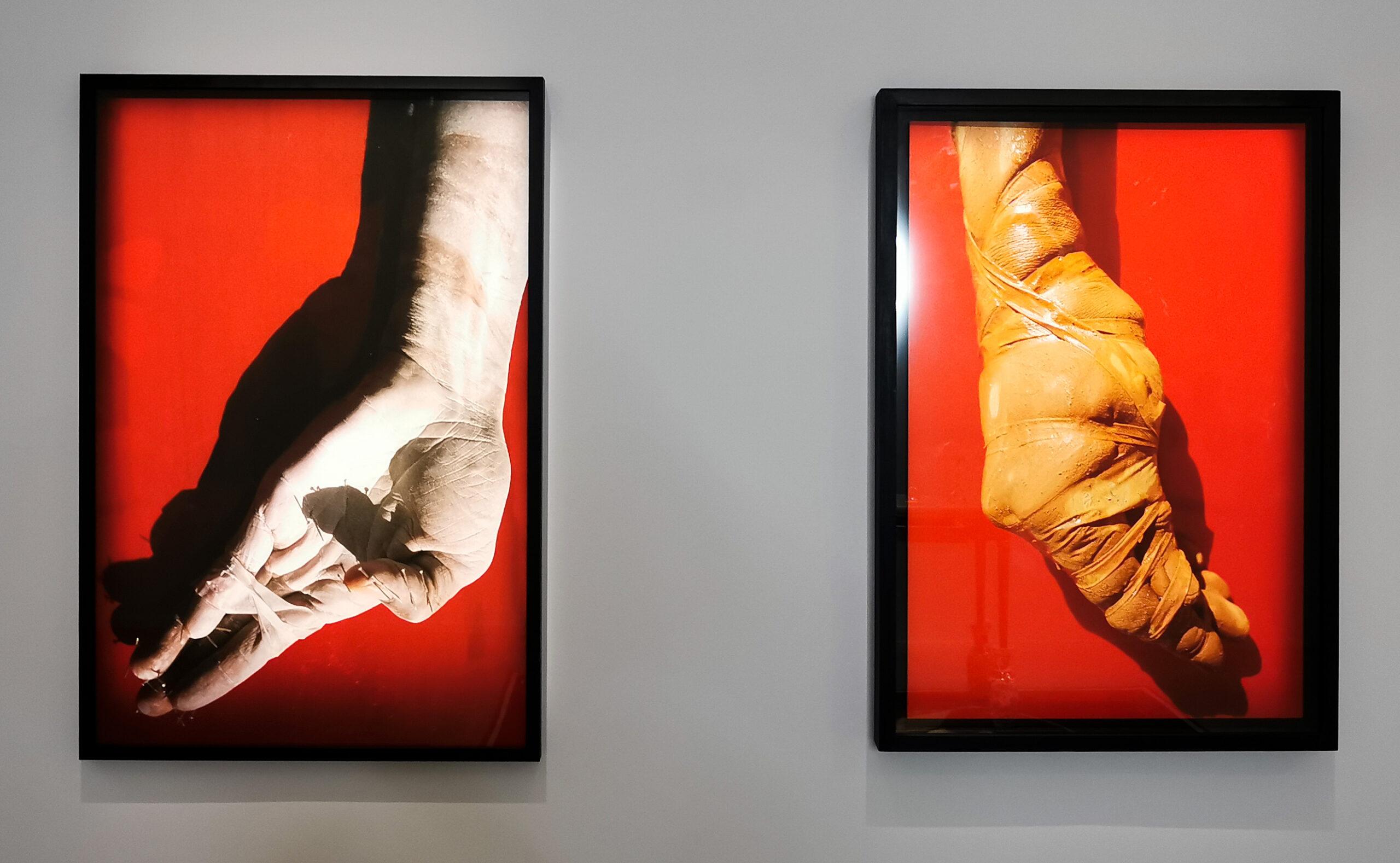 Myriam Mihindou - Série Sculptures de chair et Série «Sculpture de chair», 2000 - Possédé·e·s au MO.CO. Panacée