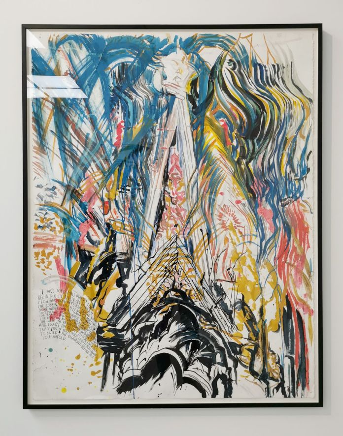 Raymond Pettibon - No Title (I have toed), 2006 - 00s - Collection Cranford - les années 2000 au MOCO Montpellier