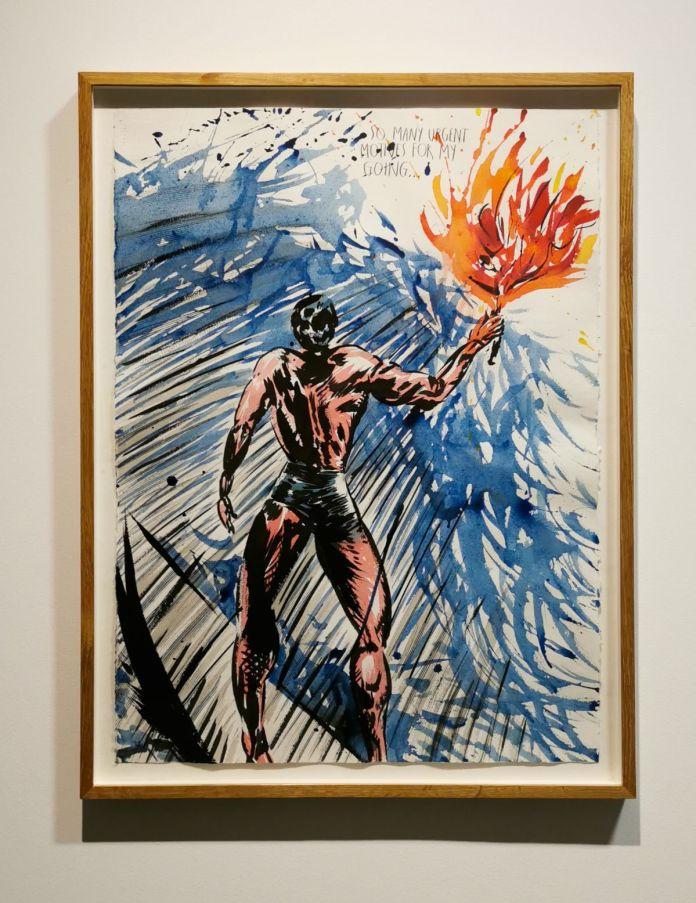Raymond Pettibon - No Title (So many urgent…), 2000 - 00s - Collection Cranford - les années 2000 au MOCO Montpellier