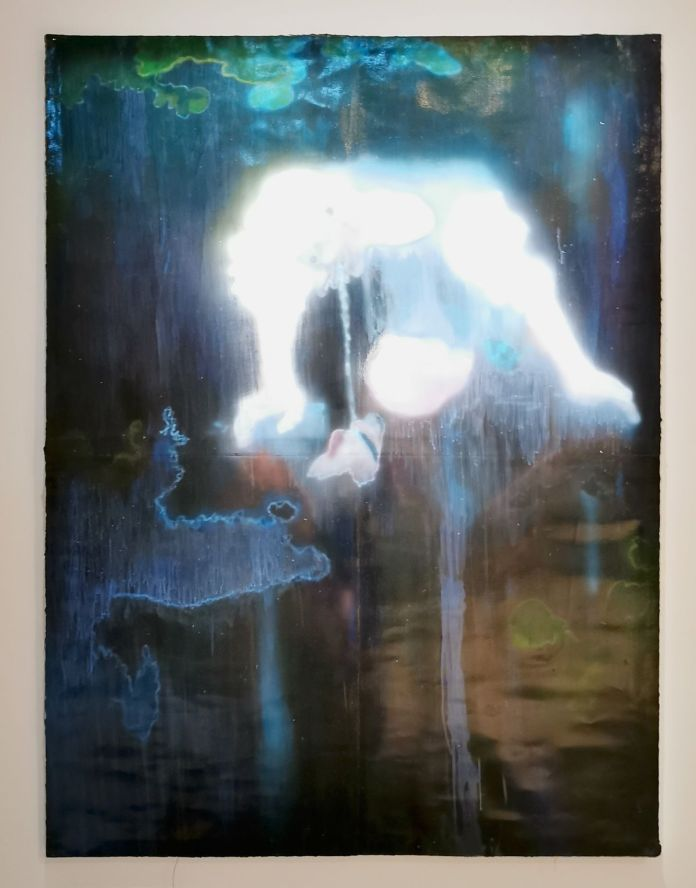 Sedrick Chisom - Fragile Narcissus' Expulsion and Regurgitation of White Bile into Echo of His Belated Self - Possédé·e·s au MO.CO. Panacée