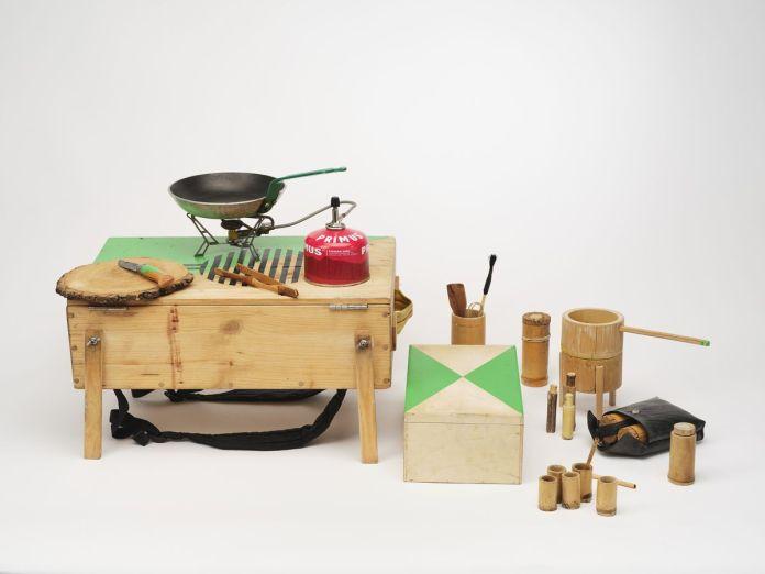 Collectif SAFI. Cuisine portable, 2011 © SAFI ; photo David Giancatarina
