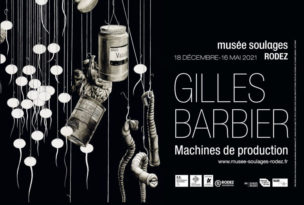 Gilles Barbier - Machines de production au Musée Soulages - Rodez