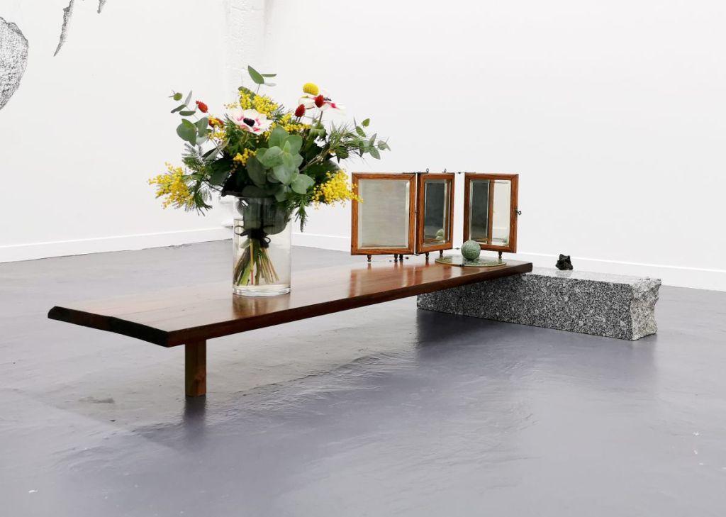 Nicolas Aguirre - Mind the gap 2 à la galerie chantiersBoîteNoire - vue de l'exposition