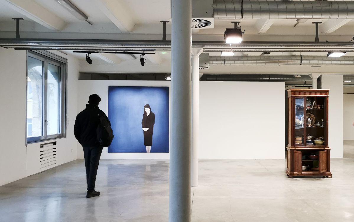 Djamel Tatah, Sans titre, 1994 et Adel Bentounsi, Bibliothèque arabe, 2017 - En attendant Omar Gatlato - Fiche la Belle de Mai - Marseille