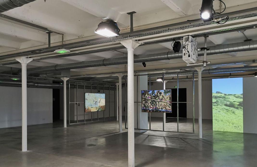 En attendant Omar Gatlato - Fiche la Belle de Mai - Marseille - vue de l'exposition au 4e étage